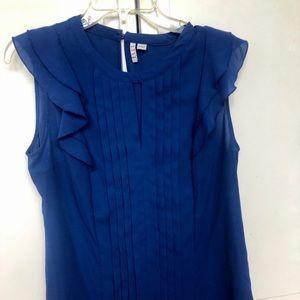Beautiful bold blue Elle blouse 👚 medium
